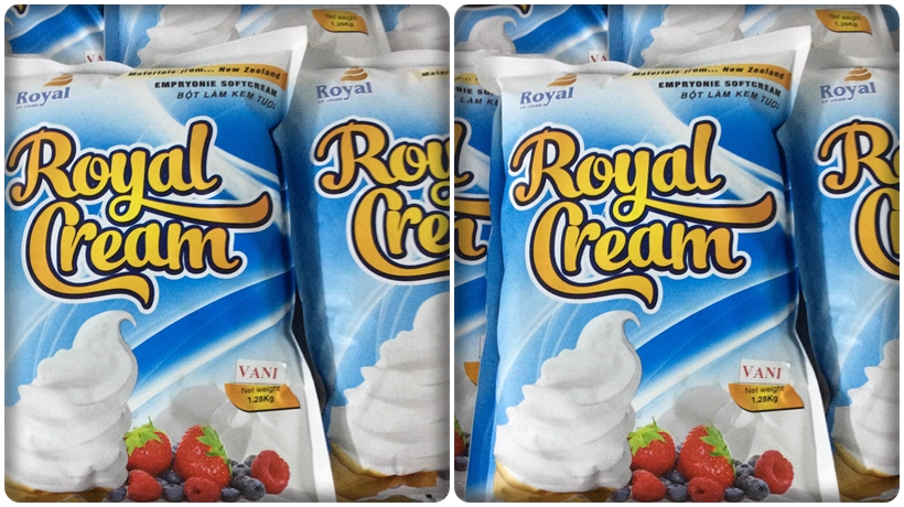 bột làm kem sử dụng cho máy làm kem hải âu