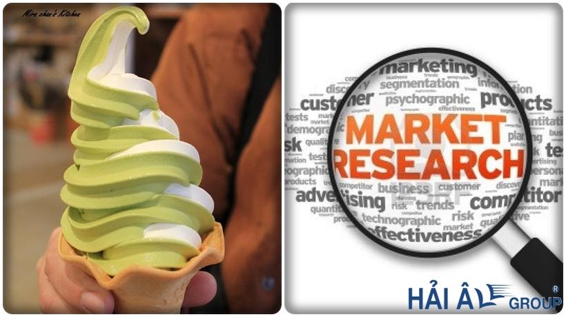 nghiên cứu thị trường cho cửa hàng kem
