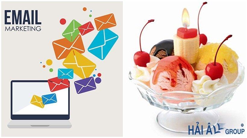 email của khách hàng kem