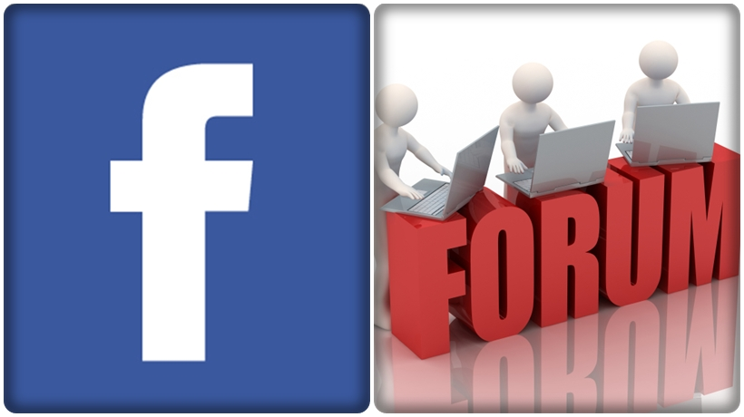 quảng cáo bằng facebook group và các forum cho cửa hàng kem