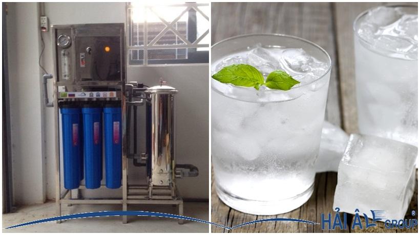 máy lọc nước nano thích hợp cho máy làm đá