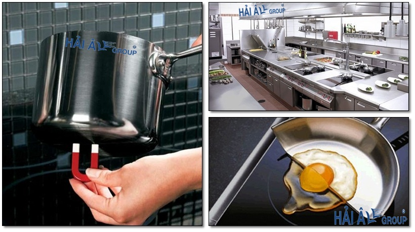 chọn loại nồi thích hợp cho bếp từ công nghiệp