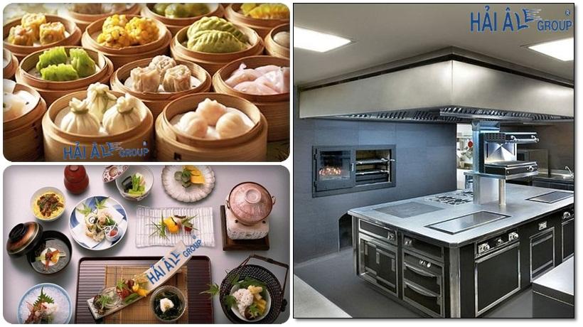 xu hướng mới là sử dụng hệ thống bếp từ công nghiệp