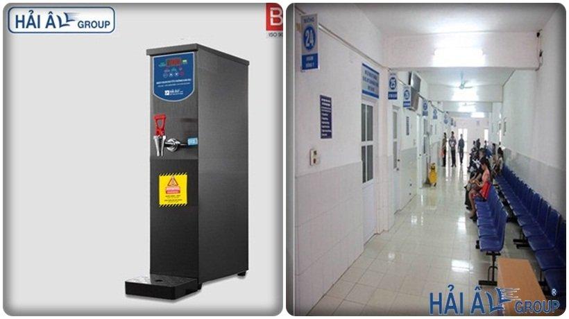 máy đun nước nóng tại bệnh viện