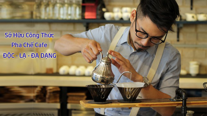pha chế cafe