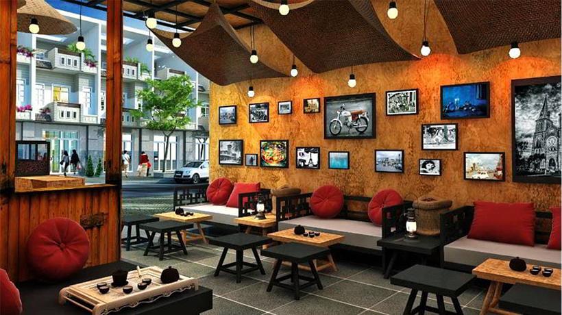 tạo phong cách quán cafe đẹp