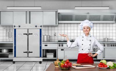 bí quyết chọn mua tủ nấu cơm công nghiệp cho các bệnh viện - trường học
